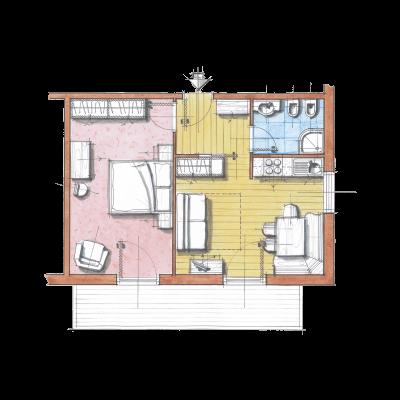 Апартамент B