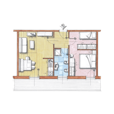 Апартамент C