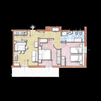 Апартамент F